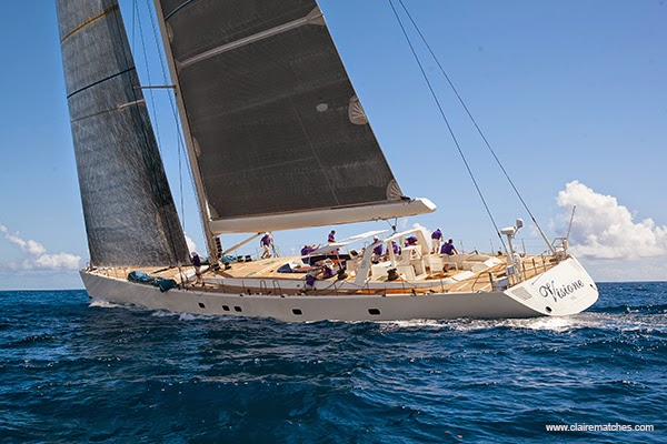 Winner of the St Barths Bucket 2015 now heading to the Superyacht Cup Palma