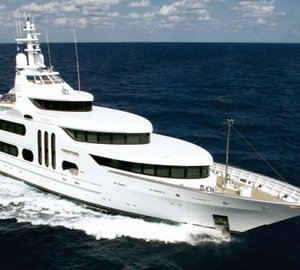 Refit of 172' Feadship Superyacht GALLANT LADY at Derecktor - Florida