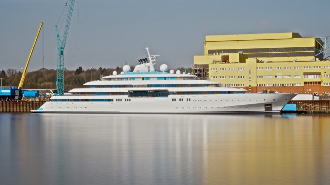 125m Luerssen yacht GOLDEN ODYSSEY - Photo credit DrDuu