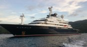 126m superyacht Octopus – Photo by Asia Pacific Superyachts Philippines