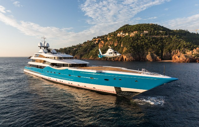 2014 Motor Yacht of the Year - Superyacht Madame Gu. Image credit to Superyacht Media