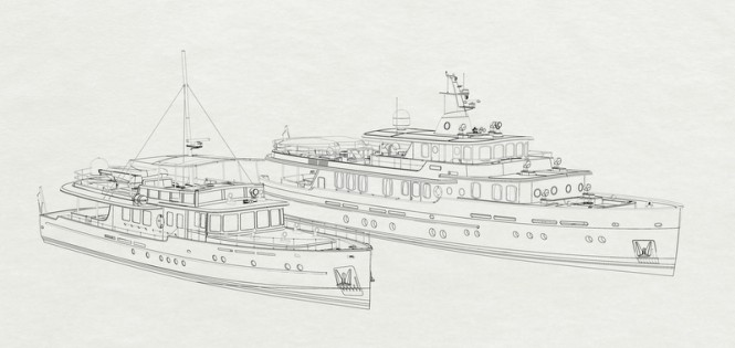28,5m Darwin Yacht and the new 36 CMY 36 Yacht