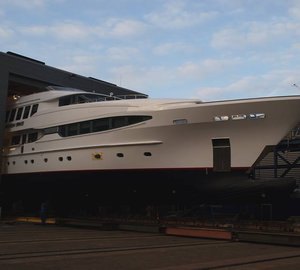 Balk Shipyard to re-launch beautiful 44m Charter Yacht SEVEN SINS this weekend