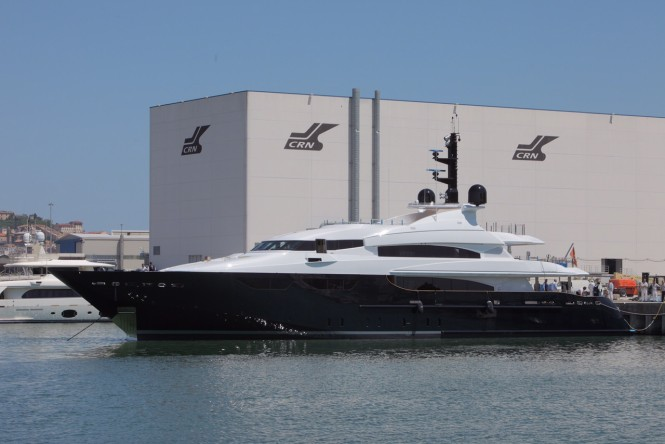 46m super yacht Eight re-launched by CRN