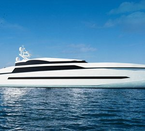 Breath-taking 60m Sea Coupé Superyacht Design unveiled by GA & Partners