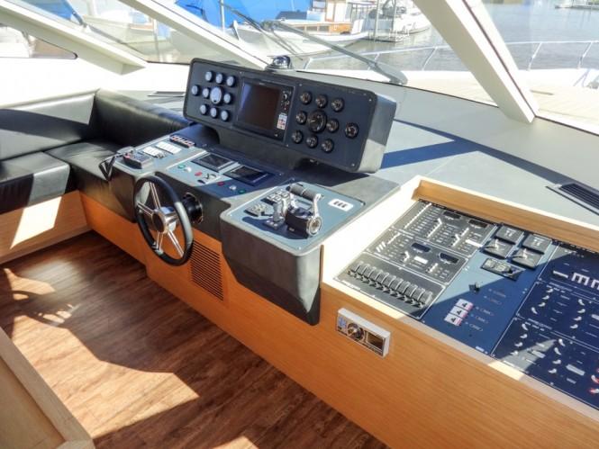 Aboard first Segue 26M Yacht