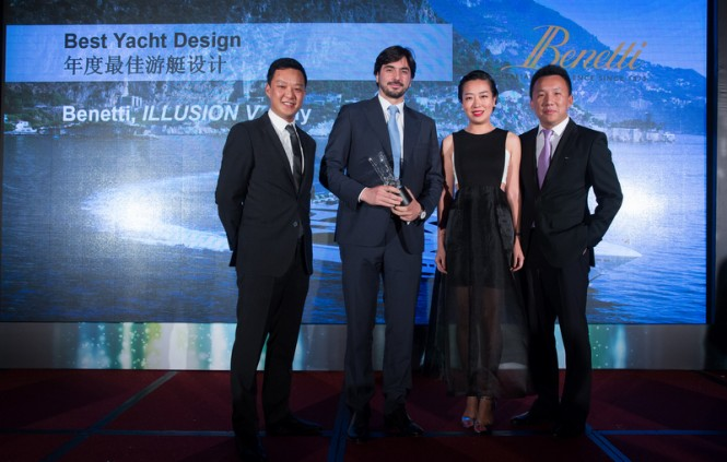 Asia Boating Award 2015 for Illusion V Yacht