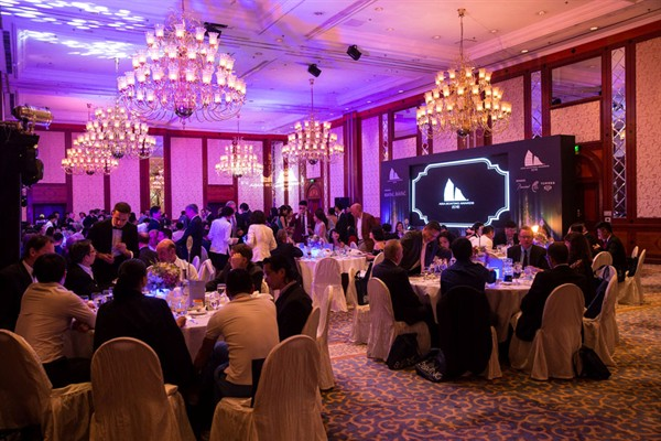 Asia Boating Awards 2015 Luxurious Gala - Image credit to Asia Pacific Boating