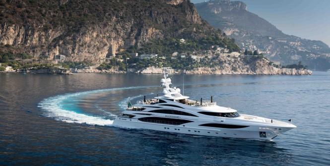 Benetti motor yacht Illusion V