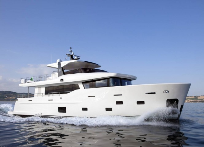 CdM Nauta Air 86 Yacht YOLO - Photo courtesy of Cantiere delle Marche