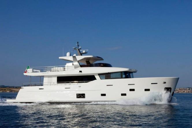 CdM Nauta Air 86 explorer yacht YOLO - Photo by Maurizio Paradisi
