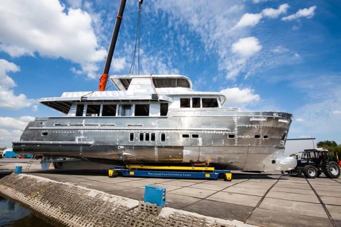 Continental Trawler 2395 Yacht - Photo by Wim van der Valk Continental Yachts