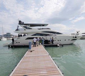 Launch of brand new Dominator 800 motor yacht Hull No.2