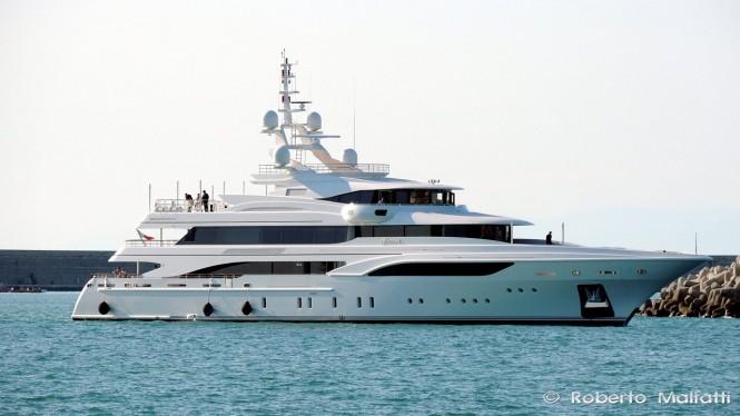 FB255 Superyacht FORMOSA by Benetti - Photo by Roberto Malfatti