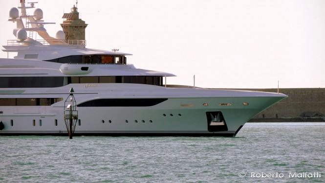 FORMOSA superyacht - Photo by Roberto Malfatti