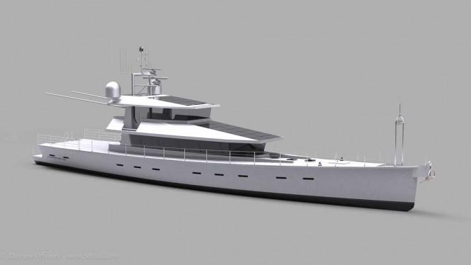 FPB 130 superyacht design