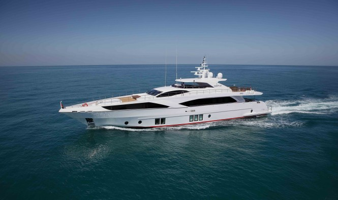 Gulf Craft motor yacht Majesty 122