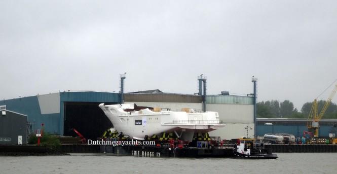 Hull Y715 Yacht - Photo by Dutchmegayachts