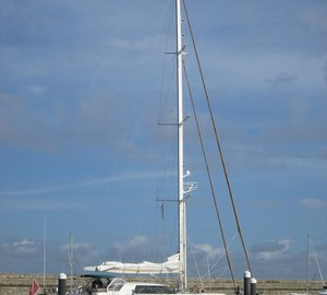 Jongert 2400M Sailing Yacht CHARISMA NOVA - First Superyacht Visit of 2015 to Dublin