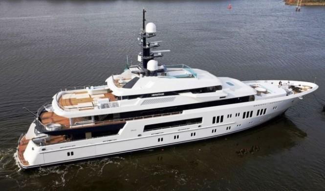 Lurssen Motor yacht Hermitage