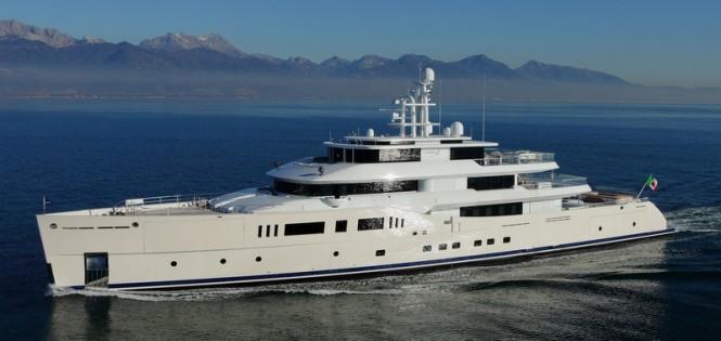 Luxury motor yacht Grace E - Photo credit to Vitruvius Yachts