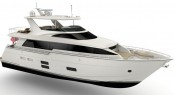 Luxury motor yacht Hatteras 70 by Hatteras Yachts - Image credit to Hatteras Yachts