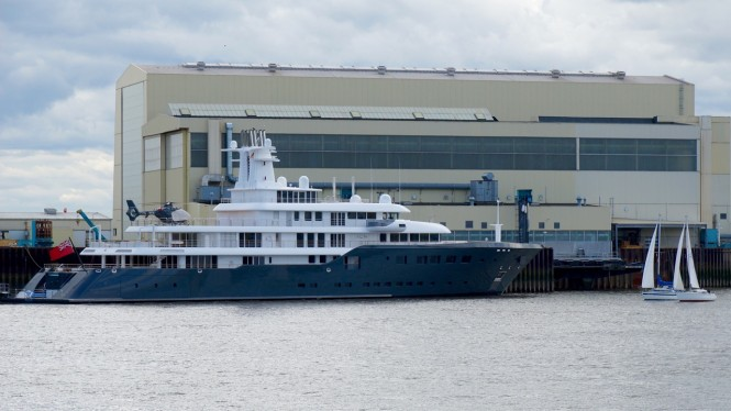 Luxury motor yacht ICE - Photo by DrDuu
