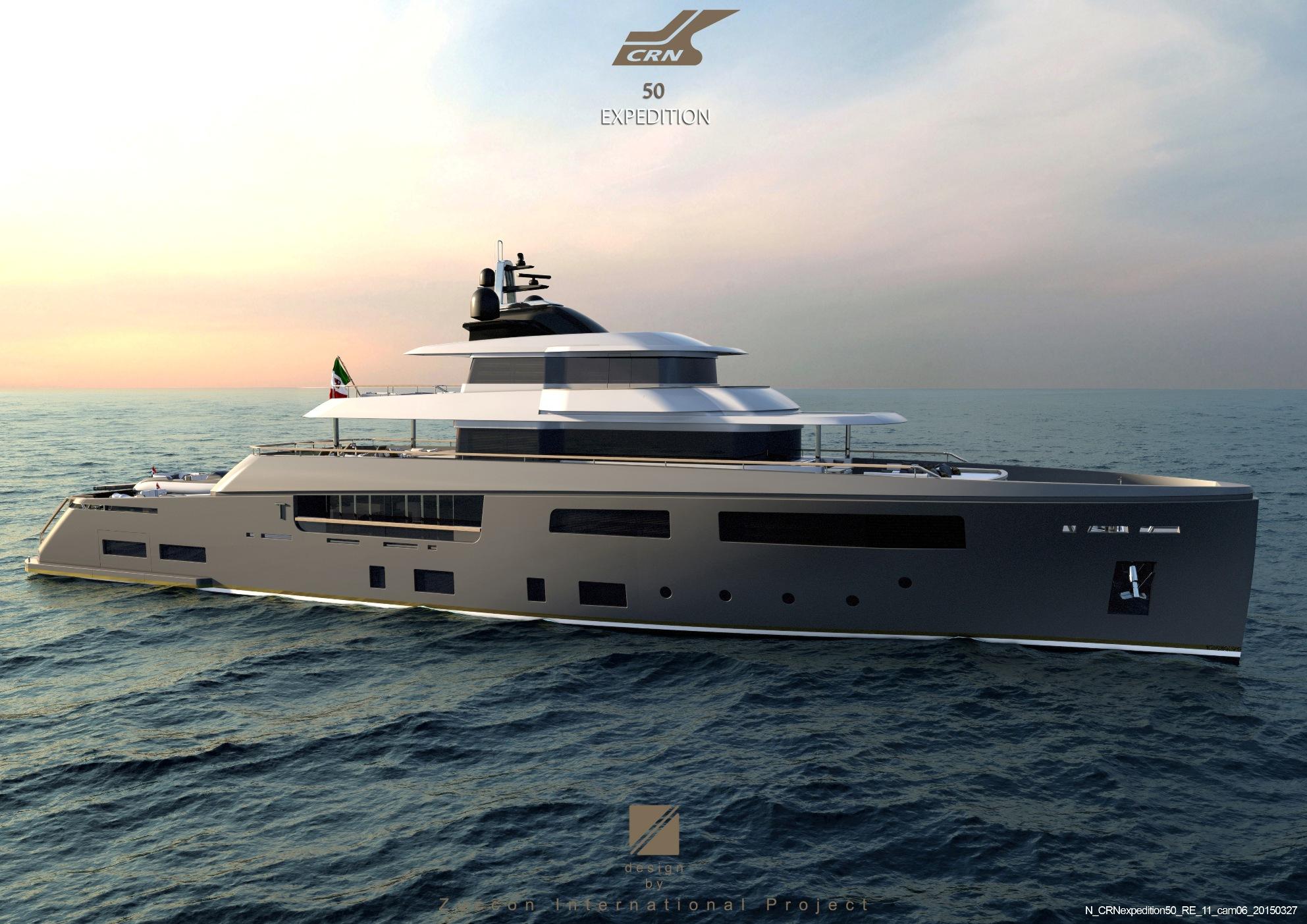 Luxury Motor Yacht Teseo Concept Yacht Charter