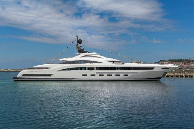 Luxury superyacht YALLA by CRN