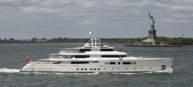 Luxury yacht GRACE E - Photo by Onne van der Wal