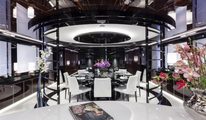 Luxury yacht MySky - Dining