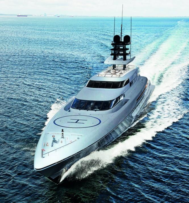 Luxury yacht SILVER FAST