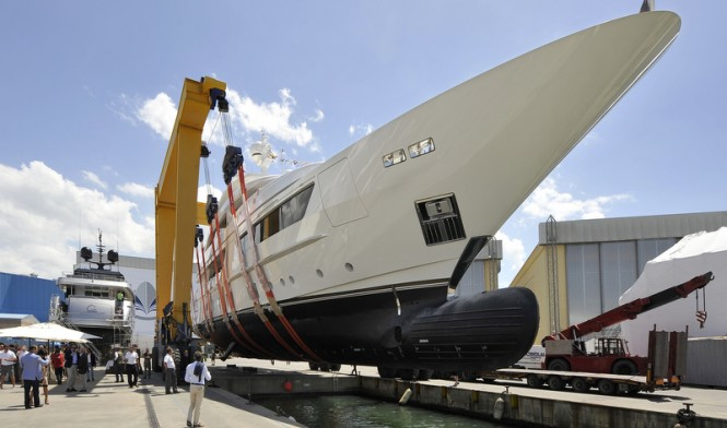 Luxury yacht Scorpion ready to hit the water