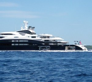 The top 10 most expensive superyacht charters in the world.