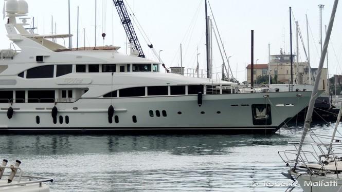Luxury yacht VICA - Photo by Roberto Malfatti