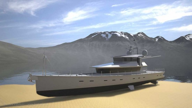 Motor yacht FPB 130 dried out