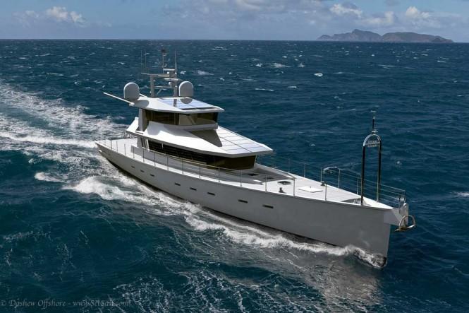 New 40m superyacht FPB 130 design unveiled by Steve Dashew