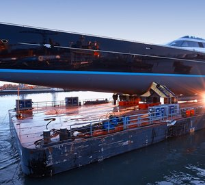 Two giant masts of new 85m Superyacht AQUIJO optimized by Equiplite Europe | Sailing Perfection BV Group of Companies