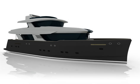 New Explorer Motor Yacht Project 099 by Holland Jachtbouw