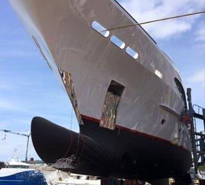 Re-launch of gorgeous 44m Charter Yacht SEVEN SINS at Balk Shipyard