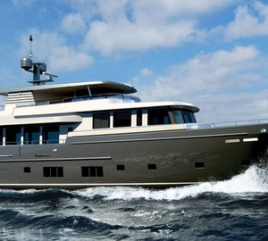 Brand new 37m Motor Yacht SANTA MARIA T launched by Wim van der Valk