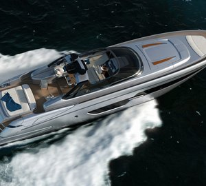 Eagerly awaited launch of first Riva 88' Florida Yacht