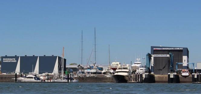 Rivergate Marina in Australia