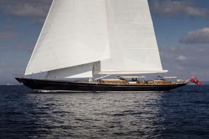 Royal Huisman yacht Wisp - Photo by Carlo Baroncini