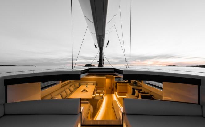 Sailing Yacht WinWin - Photo credit to Jeff Brown SYM