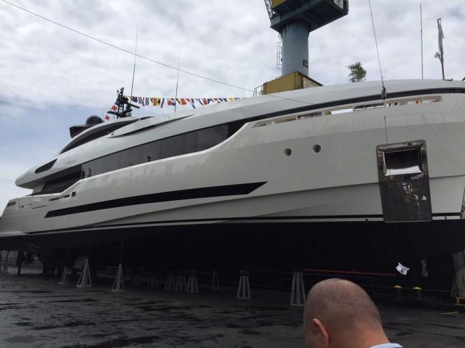 Second Columbus Sport Hybrid 40m Yacht at launch