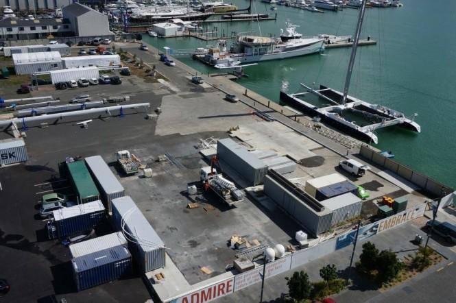 Silo Marina in Auckland