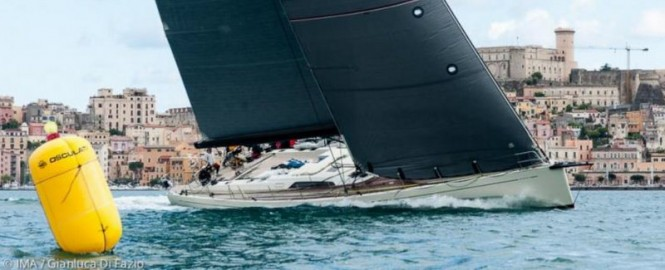Southern Wind SW82 Superyacht GRANDE ORAZIO under sail - Photo by IMA Gianluca Di Fazio