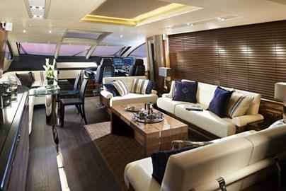 Sunseeker 80 Sport Yacht - Saloon