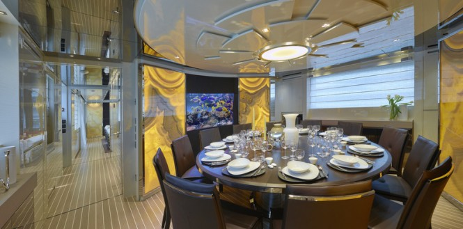 Super yacht SL106 Special Edition - Dining